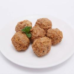 凤祥食品 马蹄鸡肉狮子头 1000g(内含3包)  *8件