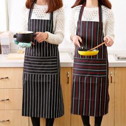 厨房围裙防油加厚围腰罩衣