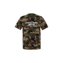 MITOWNLIFE 经典迷彩圆领短袖T恤 丛林迷彩 XXL 1件/袋