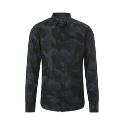 ARMANI EXCHANGE 纯棉材质迷彩图案男士长袖衬衫