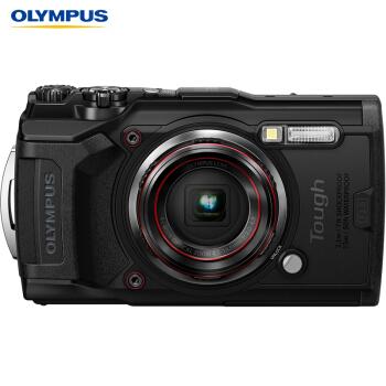 OLYMPUS 奥林巴斯 TG-6 多功能运动数码相机 (黑色)