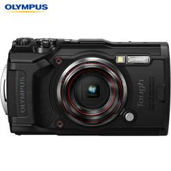 奥林巴斯 OLYMPUS TG-6 多功能运动相机 防水防震防尘数码tg6照相机 微距潜水 户外旅游 4K视频 卡片机 黑色