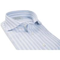 SUITSUPPLY H5721A 商务休闲男士衬衫 (浅蓝色、40)