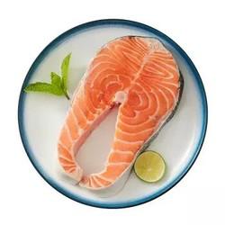 美威 智利轮切三文鱼排(大西洋鲑)400g/袋 2-3片
