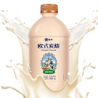 限江苏 : MENGNIU 蒙牛 欧式炭烧风味发酵乳 1kg*9件+蒙牛 优益C 0脂肪 原味340ml*4套装*9件
