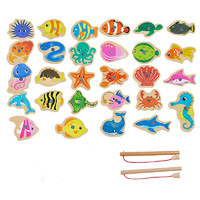 DALA 达拉 儿童钓鱼玩具 28鱼+2杆 袋装