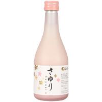 BAI HE 白鹤 浊酒系列 小百合纯米浊酒 (300ml 、瓶装、12.5%vol)