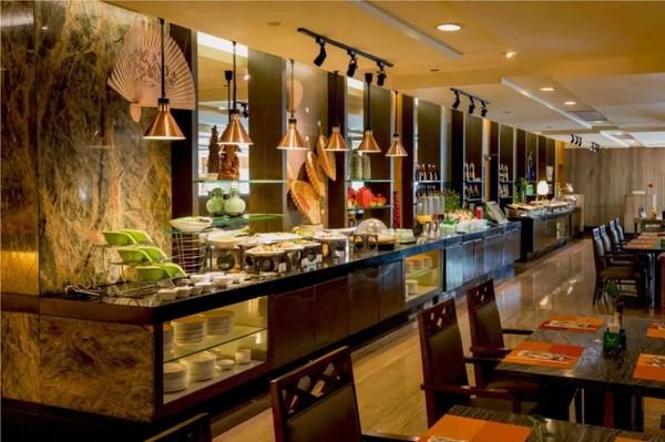 杭州国际假日酒店2晚+2大1小早餐