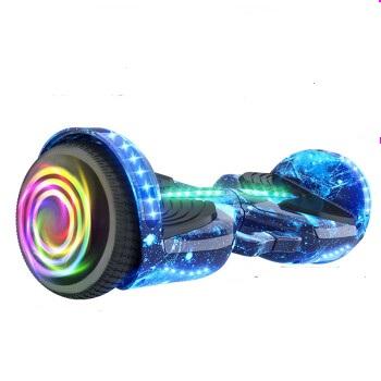 aerlang 阿尔郎 智能儿童平衡车成人两轮电动平衡车新款手提体感车平行车小孩双轮思维车二轮代步漂移车蓝星空发光轮款 N3
