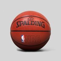 SPALDING 斯伯丁 NBA经典运球人室内室外PU篮球    7号球(标准球)   74-601 (橘红色、7号)