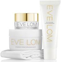 EVE LOM 尝鲜护肤套装(卸妆膏50ml+保湿面霜10ml+急救面膜25ml+迷你洁面巾)