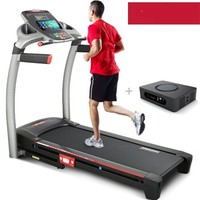 Johnson 乔山 跑步机 家用电动超静音折叠运动健身器材 高端可调减震 实景互动系统     QS8.0
