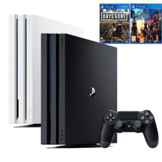 SONY 索尼 PlayStation4 Pro(PS4 Pro) 游戏主机 + 《往日不再》《王国之心3》