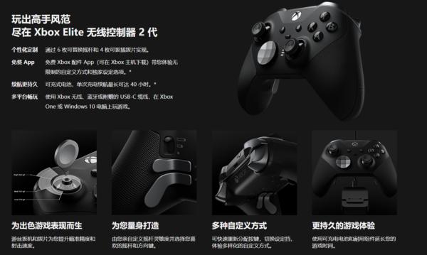GTX1060 就能畅玩《无主之地3》;微软二代精英手柄国行发售,定价1398元