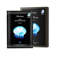 JM solution 水母弹润补水面膜 10片 *5件