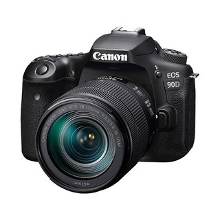 Canon 佳能 EOS 90D APS-C画幅 单反相机套机(EF-S 18-135mm F3.5-5.6 IS USM镜头)