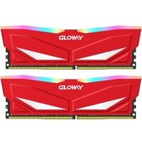GLOWAY 光威 深渊系列 台式机内存条  (8Gx2) (8G、DDR4 3000、1.35V、RGB灯条)