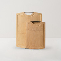 YANXUAN 网易严选 整竹砧板子母套装 (40*28*1.8cm)