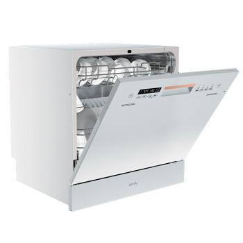 值友专享、补贴购:WAHIN 华凌 Vie6 嵌入式洗碗机 8套