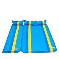 TAN XIAN ZHE 探险者 户外自动充气垫加宽加厚防潮野餐露营户外帐篷睡垫双人气垫床 蓝色双人可拼接自动充气 充气垫