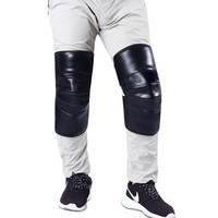 中豹 PU皮短款护膝 塑料挂钩