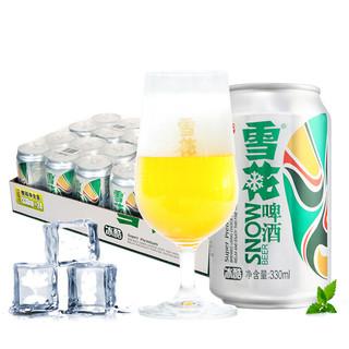 限山东、福建 : 雪花 冰酷拉罐啤酒 330ml*24听  *2件