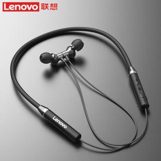 Lenovo 联想 HE05 颈挂蓝牙耳机 酷炫黑 旗舰版
