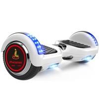 PHOENIX 凤凰 智能电动平衡车儿童两轮体感漂移思维车成人6.5寸钢琴白款  FH-700EMA-
