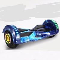 爱瑞德 智能体感电动车儿童成人平行车手扶杆扭扭车小孩双轮思维车两轮 8寸代步漂移车 星空蓝 8寸平衡车升级款