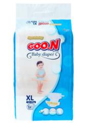 GOO.N 大王 柔软干爽环贴式纸尿裤 XL 54片 泰国版 *4件