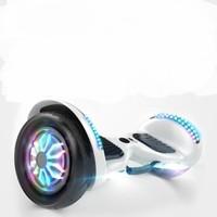 骑客 平衡车儿童电动智能成人两轮扭扭代步车双轮思体感车10英寸经典钢琴白 10英寸