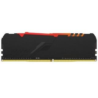 Kingston 金士顿 Fury RGB 骇客神条 DDR4 3200 台式机内存 16GB
