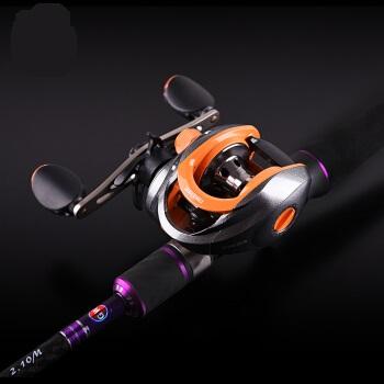 GLOWAY 光威 路亚竿套装双竿稍2.1米2.4米鱼竿碳素直柄枪柄水滴轮路亚杆抛竿渔具  枪柄2.1米双稍+光威水滴轮 光威路亚01