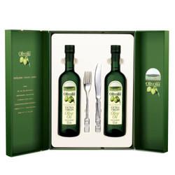 olivoilà 欧丽薇兰 食用油 特级初榨压榨橄榄油 750ml*2瓶 *2件