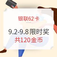 银联62卡 x 海淘12%叠加奖励大放送