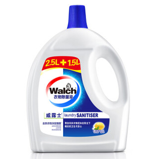 Walch 威露士 阳光清香 衣物除菌液 (2.5L+1.5L) *2件 +凑单品