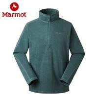 marmot 土拨鼠  v83580 户外运动保暖休闲抓绒夹克