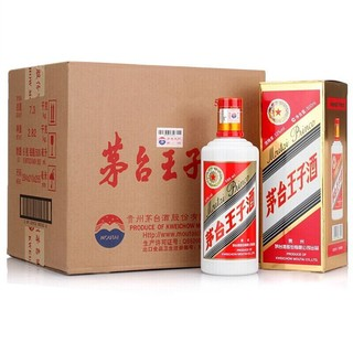 MOUTAI 茅台 茅台王子酒 53%vol 酱香型白酒 500ml*6瓶 整箱装