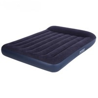 INTEX 充气床垫家用双人加厚气垫床单人户外便携折叠帐篷冲气床 【137cm宽-床】+家庭电泵 66767-66770