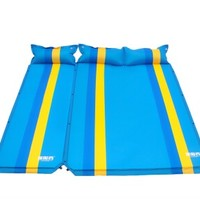 TAN XIAN ZHE 探险者 自动充气垫加宽加厚防潮野餐露营户外帐篷睡垫双人气垫床 天蓝三人 TXZ-QD401