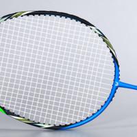 WITESS 2支装超轻全碳素碳纤维 羽毛球拍 单拍双拍训练进攻型羽拍ymqp 两支装 蓝绿262+深红267