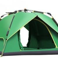 DESERT CAMEL 沙漠骆驼 户外3-4人多人加大全自动帐篷野外野营露营双人双层牛津布帐篷套餐 双层套餐07 CSR02