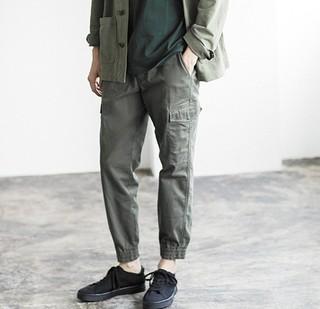 UNIQLO 优衣库 420806 EZY束脚工装运动裤