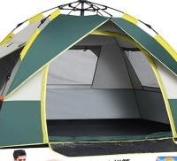 BeiJiLang 北极狼 全自动帐篷户外防雨3-4人室内双人野营露营便携式一门三窗 透气防雨   1722/1723
