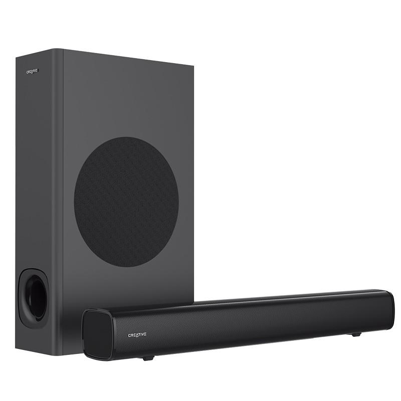 CREATIVE 创新 MF8360 回音壁音箱 (黑色、蓝牙2.1、160W)