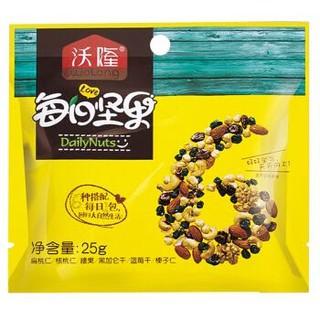 沃隆 每日坚果 混合坚果零食什锦果仁 儿童B款175g/盒,京东Plus最低折后单价32元/件 *2件