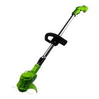 家用锂电割草机 充电式除草机 便携式锄草打草机 电动草坪机 小型剪草机 家用园林工具 3000MAH *3件