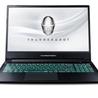 ThundeRobot 雷神 雷神 15.6英寸游戏笔记本电脑 黑色