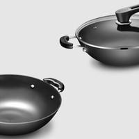 SUPOR 苏泊尔 炒锅铸铁真不锈钢EC32LF01