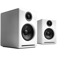 audioengine 声擎 A2+ Wireless 高级桌面式蓝牙音箱 北极白